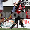 Rob Winner – rwinner@shawmedia.com<br /> <br /> Northern Illinois tight end Luke Eakes (83) battles for more yards after a reception during the second quarter at Huskie Stadium in DeKalb, Ill., Saturday, Sept. 29, 2012. Northern Illinois defeated Central Michigan, 55-24.