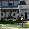 Jeff Engelhardt – jengelhardt@shawmedia.com<br /> Firefighters enter the house at 1311 Everett St. in Sycamore after responding to a fire at 12:55 p.m. Tuesday. Sycamore Assistant Fire Chief Marc Doty said there was a first floor fire that took roughly 10 minutes to contain. Sycamore was assisted by DeKalb, Cortland and Genoa-Kingston fire crews and Sycamore police. Doty said he did not know how much damage was done and the cause of the fire was still under investigation. While there was not much visible structure damage, firefighters were working inside the house for more than an hour after extinguishing the blaze.
