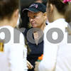 Kyle Bursaw – kbursaw@shawmedia.com<br /> <br /> Black Hawk College coach Mary Davis talks to her team between games at Kishwaukee College on Wednesday, Oct. 3, 2012. Proceeds from raffles and silent auctions at the event will go to the Mary Davis hospital fund.