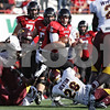 Rob Winner – rwinner@shawmedia.com<br /> <br /> Northern Illinois quarterback Jordan Lynch (6) carries the ball for a first down during the third quarter at Huskie Stadium in DeKalb, Ill., Saturday, Sept. 29, 2012. Northern Illinois defeated Central Michigan, 55-24.