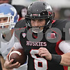 Rob Winner – rwinner@shawmedia.com<br /> <br /> Northern Illinois quarterback Jordan Lynch (6) carries the ball for an 18-yard gain during the second quarter in DeKalb, Ill., Saturday, Oct. 13, 2012. NIU defeated Buffalo, 45-3.