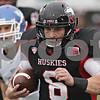 Rob Winner – rwinner@shawmedia.com<br /> <br /> Northern Illinois quarterback Jordan Lynch (6) carries the ball for an 18-yard gain during the second quarter in DeKalb, Ill., Saturday, Oct. 13, 2012. NIU defeated Buffalo, 45-3.