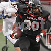 Rob Winner – rwinner@shawmedia.com<br /> <br /> Northern Illinois cornerback Marlon Moore (30) makes his second interception during the third quarter in DeKalb, Ill., Saturday, Oct. 13, 2012. NIU defeated Buffalo, 45-3.