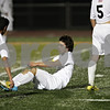 Rob Winner – rwinner@shawmedia.com<br /> <br /> Jacobs' Anthony Moscatello (center) gets up off the field after the Class 3A DeKalb Regional semifinal on Tuesday, Oct. 16, 2012. DeKalb defeated Jacobs, 1-0.