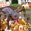 "Kyle Bursaw – kbursaw@shawmedia.com<br /> <br /> Daniel Bautista's spider pumpkin won the 2012 Pumpkin Fest ""Pick of the Patch"" award.<br /> <br /> Thursday, Oct. 25, 2012."