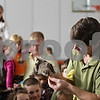Rob Winner – rwinner@shawmedia.com<br /> <br /> Dan Peterson feeds his Egyptian Fruit Bat during his Incredible Bats presentation at Haish Gym in DeKalb Saturday afternoon.<br /> <br /> Saturday, Oct. 20, 2012