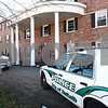 Kyle Bursaw — kbursaw@shawmedia.com<br /> <br /> DeKalb police vehicles sit outside the Pi Kappa Alpha house at 1020 W. Hillcrest Drive in DeKalb where police were investigating the death of NIU freshman David Bogenberger on Friday, Nov. 2, 2012.