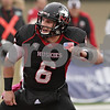 Rob Winner – rwinner@shawmedia.com<br /> <br /> Northern Illinois quarterback Jordan Lynch (6) celebrates after a 4-yard touchdown run during the second quarter in DeKalb, Ill., Saturday, Oct. 13, 2012. NIU defeated Buffalo, 45-3.