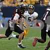 Rob Winner – rwinner@shawmedia.com<br /> <br /> Northern Illinois quarterback Jordan Lynch carries the ball for a 73-yard touchdown run in the third quarter at Soldier Field in Chicago, Ill., Saturday, Sept. 1, 2012. Iowa defeated NIU, 18-17.