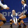 Kyle Bursaw – kbursaw@shawmedia.com<br /> <br /> Genoa-Kingston's Emily Borak controls the ball in the first game of the Cogs 25-11, 25-22 loss to Burlington Central on Monday, Sept. 10, 2012.