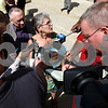Kyle Bursaw – kbursaw@shawmedia.com<br /> <br /> Kathy Chapman, a childhood friend of Maria Ridulph who was with her just before her disappearance in 1957, talks to the media following the guilty verdict in Sycamore, Ill. on Friday, Sept. 14, 2012.