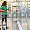 Kyle Bursaw – kbursaw@shawmedia.com<br /> <br /> Sycamore resident Katie Myers, 25, shops for gluten-free products in Hy-Vee's health market section on Thursday, Sept. 20, 2012. Myers has been eating gluten-free for about six years.
