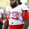 Rob Winner – rwinner@shawmedia.com<br /> <br /> Northern Illinois defensive tackle Ken Bishop during practice at Huskie Stadium in DeKalb Wednesday, Sept. 19, 2012.