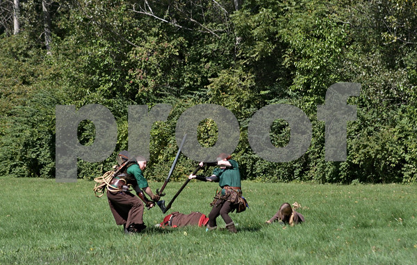 Rob Winner – rwinner@shawmedia.com<br /> <br /> A live action role playing event is seen on the Stonehouse Park campgrounds in Earlville Saturday afternoon.