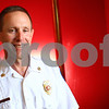 Kyle Bursaw - kbursaw@shawmedia.com<br /> <br /> After spending several months as the interim fire chief for DeKalb, Eric Hicks was recently named the permanent chief there.<br /> <br /> Friday, July 27, 2012.