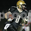 Rob Winner – rwinner@shawmedia.com<br /> <br /> Sycamore's Ben Niemann (8) carries the ball on a handoff during the first quarter in Sycamore Friday, Sept. 21, 2012.