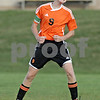 Rob Winner – rwinner@shawmedia.com<br /> <br /> DeKalb's Nick Sablich (9) reacts after a missed scoring opportunity during the first half at Sycamore Tuesday afternoon. DeKalb defeated Sycamore, 4-0.