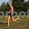 Rob Winner – rwinner@shawmedia.com<br /> <br /> DeKalb's Kelsey Schrader nears the finish line during the Sycamore Invitational at Afton Forest Preserve Tuesday.