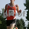 Rob Winner – rwinner@shawmedia.com<br /> <br /> DeKalb's Marc Dubrick nears the finish line during the Sycamore Invitational at Afton Forest Preserve Tuesday.