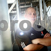Kyle Bursaw - kbursaw@shawmedia.com<br /> <br /> Todd Hallaron will lead the Barbs on the gridiron this fall as the new head coach.<br /> <br /> Taken at DeKalb High School on Friday, Aug. 3, 2012.