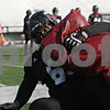 Rob Winner – rwinner@shawmedia.com<br /> <br /> Northern Illinois defensive tackle Corey Thomas participates in a tackling drill during practice at Huskie Stadium in DeKalb, Ill., Friday, March 29, 2013.