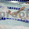Sandy Bressner – sbressner@kcchronicle.com<br /> Grace Waller of DeKalb swims the 200-yard freestyle during the IHSA 2010 State Meet preliminaries at Evanston High School Friday.