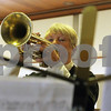 DeKalb resident Judy Sisler plays her instrument during Easter Worship at the Bethlehem Evangelical Lutheran Church on Sunday.