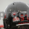 "Rob Winner – rwinner@shawmedia.com<br /> <br /> A sticker with the words ""The Hard Way,"" is seen on the back of Northern Illinois defensive tackle Ken Bishop's helmet during practice at Huskie Stadium in DeKalb, Ill., Friday, April 12, 2013."