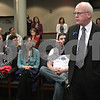 Rob Winner – rwinner@shawmedia.com<br /> <br /> Judge Bill Brady speaks to over 50 attendees at the Hands Around the Courthouse event which was hosted by the Family Service Agency at the DeKalb County Courthouse in Sycamore, Ill., Thursday, April 18, 2013.