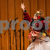 "Erik Anderson - For the Daily Chronicle <br /> A dancer performs during the Balinese Dance and Gamelan performance during the ""World Music Concert, A Musical Encounter"" at the Northern Illinois University Music Building on Sunday, April 14, 2013."