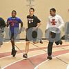 Monica Maschak - mmaschak@shawmedia.com<br /> DeKalb students Cameron Ward, James Robinson, Drew Paszotta, David Long and Keion Wright are on the school's football team as well as the track team.