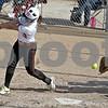 Monica Maschak - mmaschak@shawmedia.com<br /> DeKalb's Sabrina Killeen misses a ball as Kaneland's catcher Paige Kuefler opens her mitt during Thursday's game. The Knights beat the Barbs 4-3.
