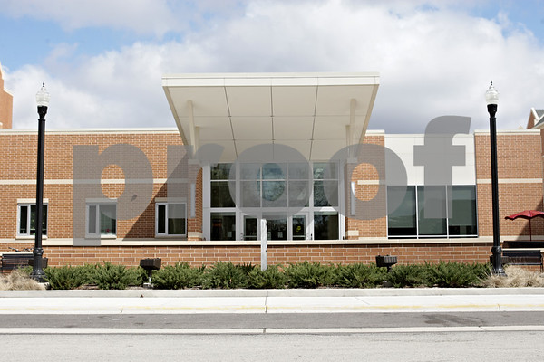 Rob Winner – rwinner@shawmedia.com<br /> <br /> The New Residence Hall Community Center as seen on the Northern Illinois University campus in DeKalb, Ill., Thursday, April 25, 2013. Beginning in 2015, incoming freshmen will have to live in the dormitories for their first two years of college.
