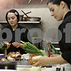 Rob Winner – rwinner@shawmedia.com<br /> <br /> Gail Roloff (left), owner of Rural Girl Soups, and cook Meg Sisk prepare soup at a kitchen in Geneva, Ill., Tuesday, April 23, 2013. Orders for the soup are taken online, then prepared on Tuesday and delivered to customers in DeKalb county every Wednesday.