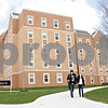 Rob Winner – rwinner@shawmedia.com<br /> <br /> The New Residence Hall East is seen on the Northern Illinois University campus in DeKalb, Ill., Thursday, April 25, 2013. Beginning in 2015, incoming freshmen will have to live in the dormitories for their first two years of college.