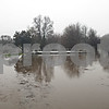 Rob Winner – rwinner@shawmedia.com<br /> <br /> The Sycamore Golf Cours is seen flooded by the Kishwaukee River in Sycamore, Ill., on Thursday, April 18, 2013.