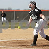Monica Maschak - mmaschak@shawmedia.com<br /> Kaneland's Ellissa Eckert releases a pitch during a game at DeKalb High School on Thursday, April 25, 2013. The Knights beat the Barbs 4-3.