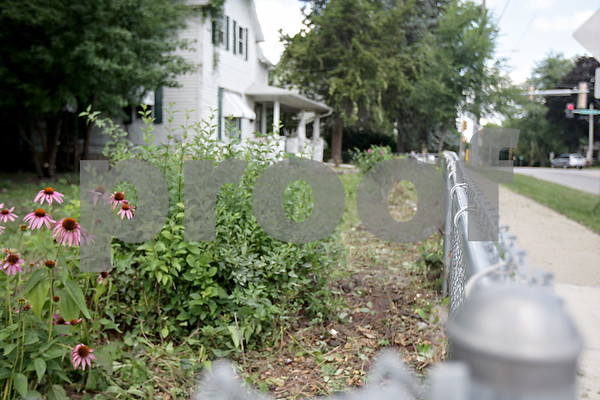 Monica Maschak - mmaschak@shawmedia.com<br /> The property at 509 North 7th Street and Fisk Avenue after volunteers spent four hours clearing foliage.