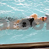 Monica Maschak - mmaschak@shawmedia.com<br /> Sophomore Bailey Flemming glides in her backstroke during a DeKalb-Sycamore co-op swim team practice on Friday, August 16, 2013.