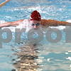 Monica Maschak - mmaschak@shawmedia.com<br /> Sophomore Jensen Keck butterflies down the lane during a DeKalb-Sycamore co-op swim team practice on Friday, August 16, 2013.