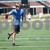 Monica Maschak - mmaschak@shawmedia.com<br /> Grad Student Craig Fugate tosses a frisbee to a friend at Huskie Stadium on Friday, August 23, 2013.