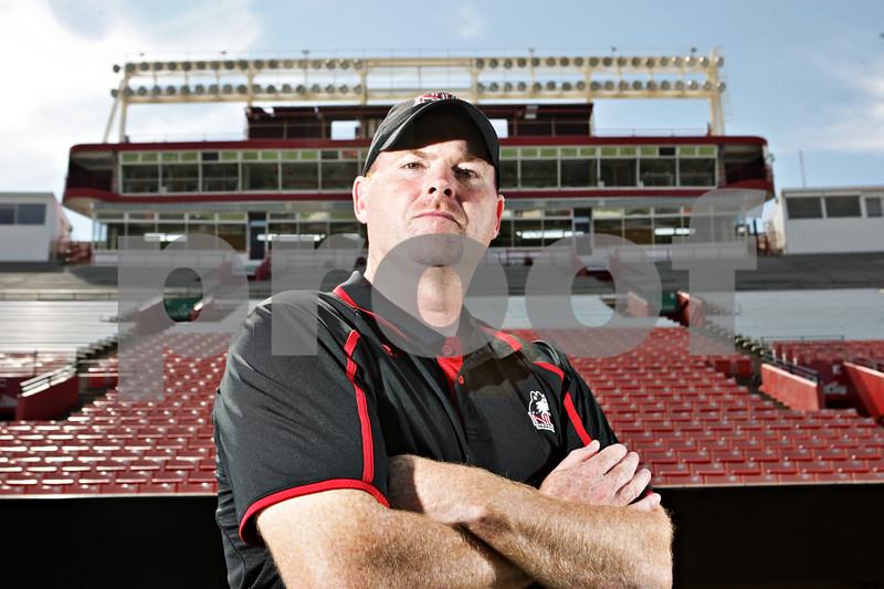 Rob Winner – rwinner@shawmedia.com<br /> <br /> Head Coach Rod Carey<br /> NIU Football tab<br /> <br /> Wednesday, Aug. 7, 2013<br /> DeKalb, Ill.
