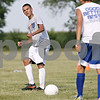 Rob Winner – rwinner@shawmedia.com<br /> <br /> Eric Phillips makes a pass during practice in Hinckley on Tuesday, Aug. 20, 2013.