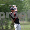 Rob Winner – rwinner@shawmedia.com<br /> <br /> Indian Creek's Drew Headly tees off on the eighth hole at Kishwaukee Country Club in DeKalb on Monday, Aug. 26, 2013.
