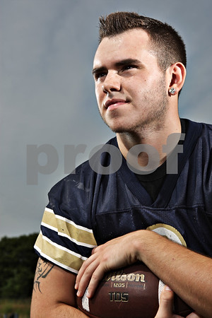 Rob Winner – rwinner@shawmedia.com<br /> <br /> Hiawatha quarterback Mike Mercado<br /> <br /> Friday, Aug. 9, 2013<br /> DeKalb, Ill.