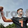Rob Winner – rwinner@shawmedia.com<br /> <br /> DeKalb quarterback Jack Sauter <br /> <br /> Friday, Aug. 9, 2013<br /> DeKalb, Ill.