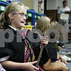Monica Maschak - mmaschak@shawmedia.com<br /> Ava Bickner, 9, dressed as a Ravenclaw student for the Harry Potter party at the DeKalb Library on Tuesday, August 27, 2013. The party was to celebrate the 15th anniversary of the Harry Potter books.