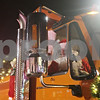Rob Winner – rwinner@shawmedia.com<br /> <br /> Santa Claus arrives outside the Egyptian Theatre in a snow plow truck in downtown DeKalb, Ill., Thursday, Dec. 5, 2013.
