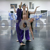 Rob Winner – rwinner@shawmedia.com<br /> <br /> Beth Fowler (front) and Larry Pool practice a dance during a rehearsal for the Nutcracker at the Beth Fowler School of Dance in Genoa on Monday, Dec. 2, 2013.