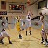 Monica Maschak - mmaschak@shawmedia.com<br /> Olivia Harvell shoots in the fourth quarter against Morris at Indian Creek High School on Tuesday, December 10, 2013. The Timberwolves lost, 68-47.